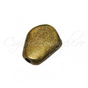 Margele metalice bronz spacer 12x9x3 mm