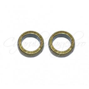 Margele metalice cerc bronz 11x4 cm
