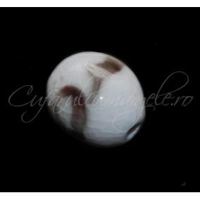 Margele portelan oval 25x20 mm