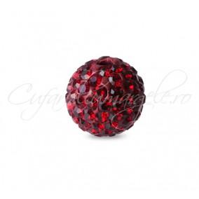 Margele shamballa grena 8 mm