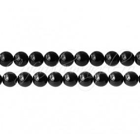 Onix sferic lucios 8 mm