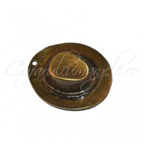 Pandantiv bronz palarie 45x38x12 mm