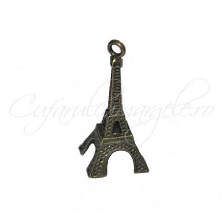 Charm bronz turn Eiffel 28x9 mm