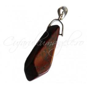 Pandantiv fatetat obsidian mahon 38x10mm