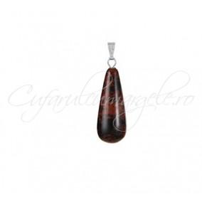 Pandantiv lacrima obsidian mahon 30x10mm