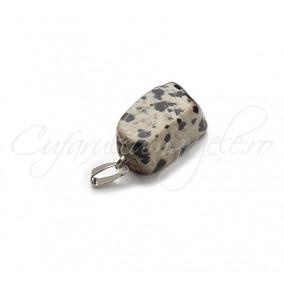 Pandantiv neregulat jasp dalmatian 20mm