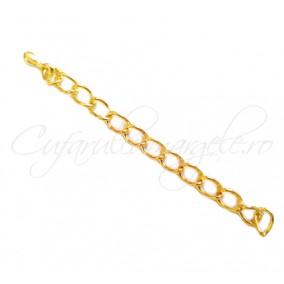 Prelungire lant auriu 5 cm