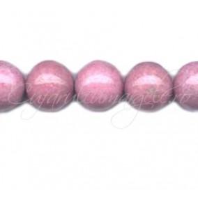 Rodonit roz sferic nefatetat 12 mm