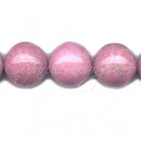 Rodonit roz sferic nefatetat 14 mm