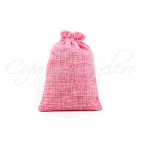 Saculeti panza in roz 9x7cm