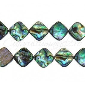 Scoica abalone romb 10mm
