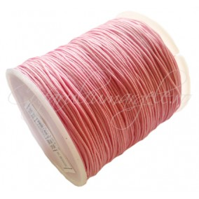 Snur nylon 08mm interior guta rigida rola 100m roz