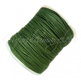 Snur nylon 08mm interior guta rigida rola 100m verde inchis