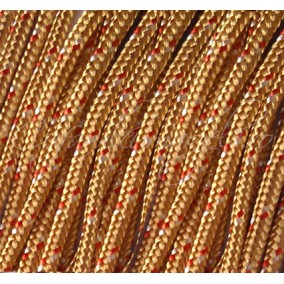 Snur paracord 3mm cognac 10m