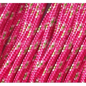 Snur paracord 3mm fucsia 10m