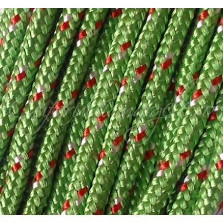 Snur paracord 3mm verde 10m