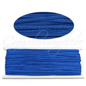 Snur soutache albastru regal 3mm rola 9m