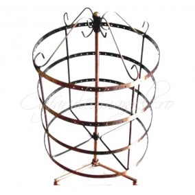 Suport cercei cilindric rotativ 192 orificii