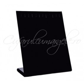 Suport vertical coliere bratari velur negru 25x20 cm