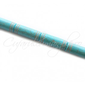 Turcoaz sintetic cilindric 40x15mm
