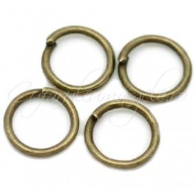 Zale simple bronz gros 10 diametru 10mm (100 zale)