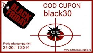 cupon reducere 30 % margelesi accesorii, reduceri margele, margele ieftine, cufarulcumargele discount blackfriday
